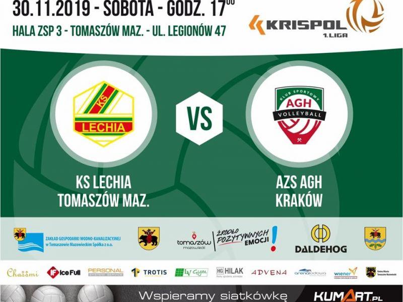 mecz siatkarski Lechia 30 listopada