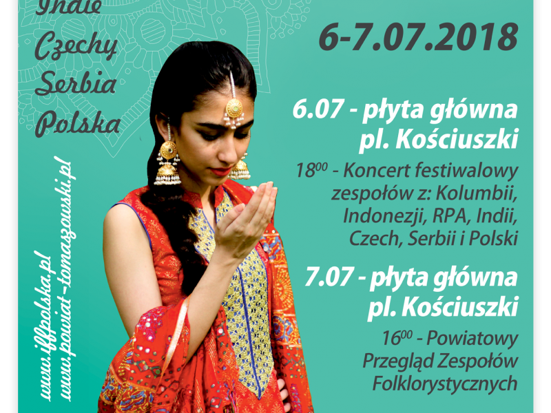 plakat promujacy festiwal