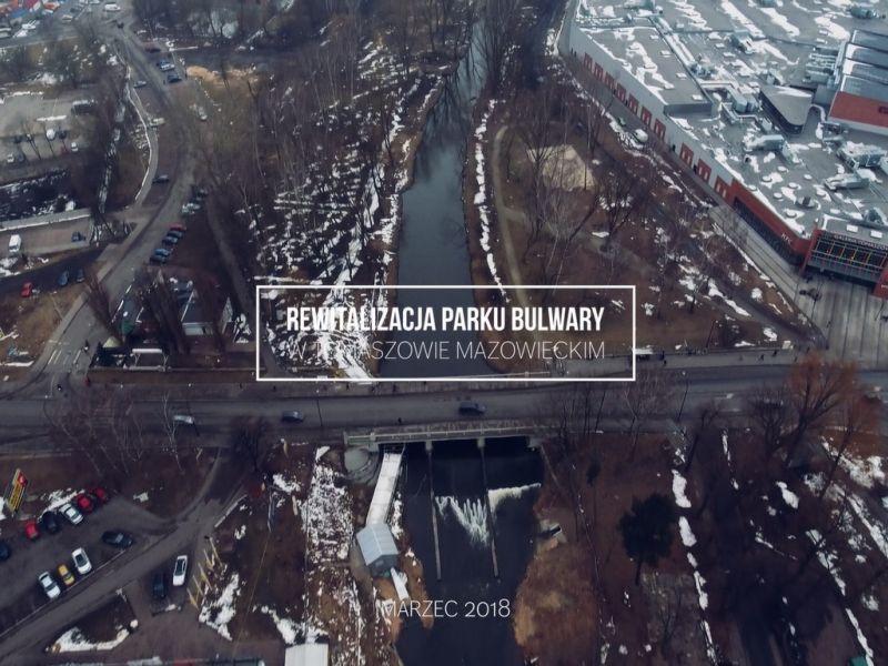 Rozpoczęły się prace w Parku Bulwary