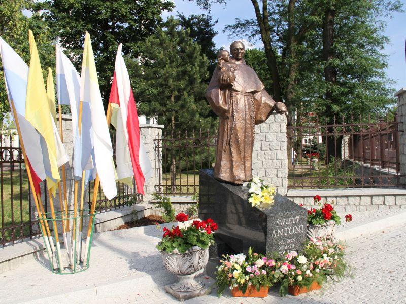 pomnik św. Antoniego