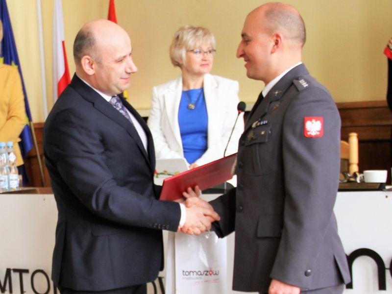 Wojciech Panas uhonorowany podczas VII sesji Rady Miejskiej