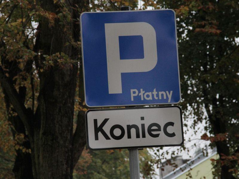 Strefa Płatnego Parkowania została zawieszona