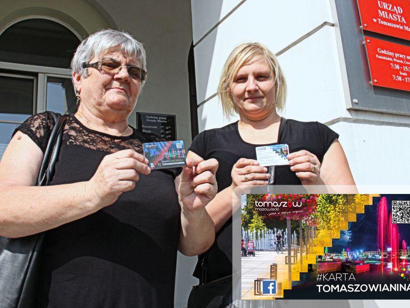 Trwa wydawanie Kart Tomaszowianina