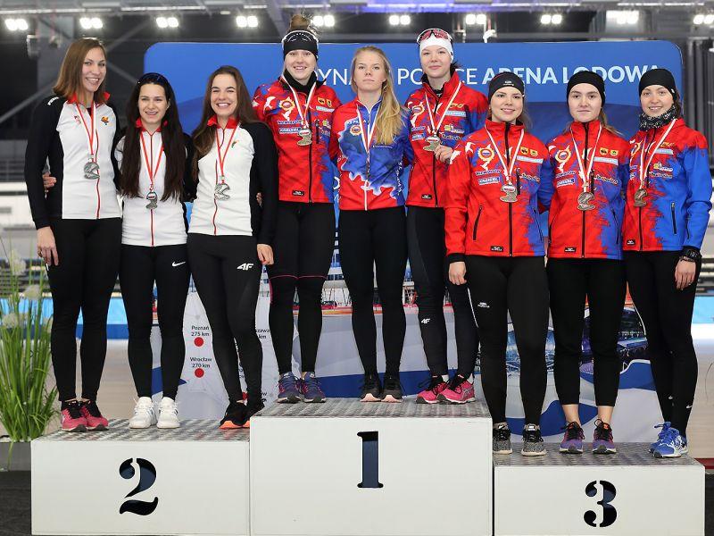 Karolina Bosiek z tytułem Mistrza Polski w wieloboju sprinterskim