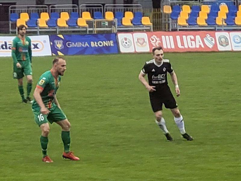 Na zdjęciu piłkarze Lechii podczas meczu na wyjeździe