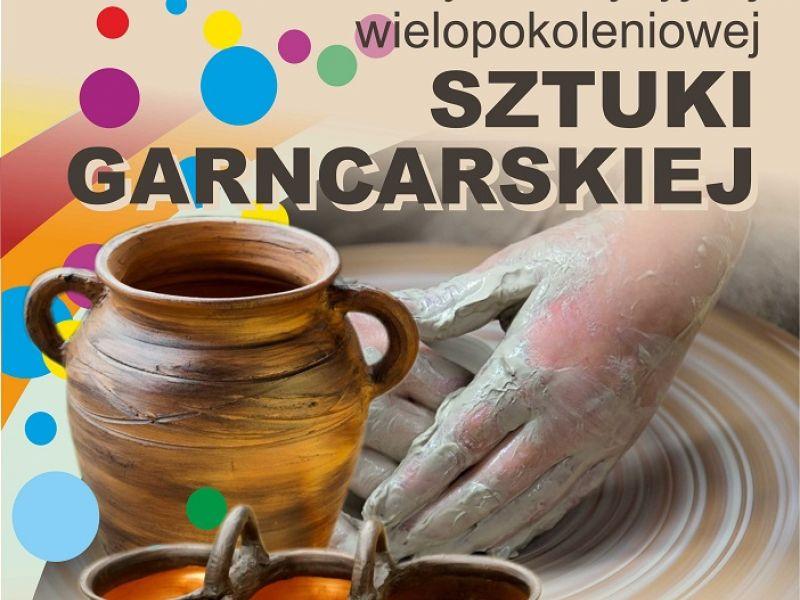 plakat promujący warsztaty sztuki garncarskiej