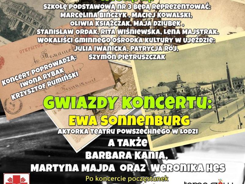 """Zmiana terminu koncertu """"Trochę wspomnień z tamtych lat…"""""""