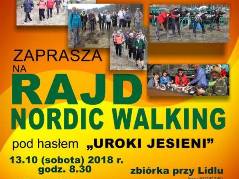"Rajd Nordic Walking – ""Uroki jesieni"""