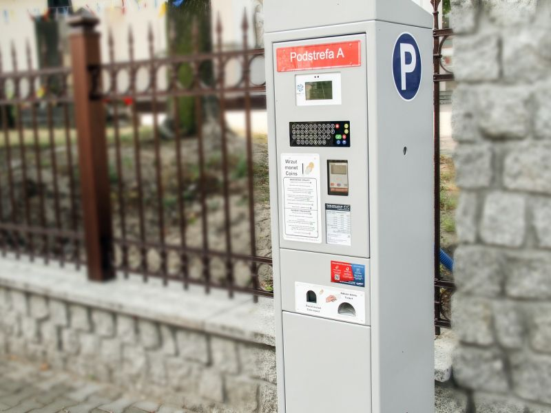 Za parkowanie możemy zapłacić kartą