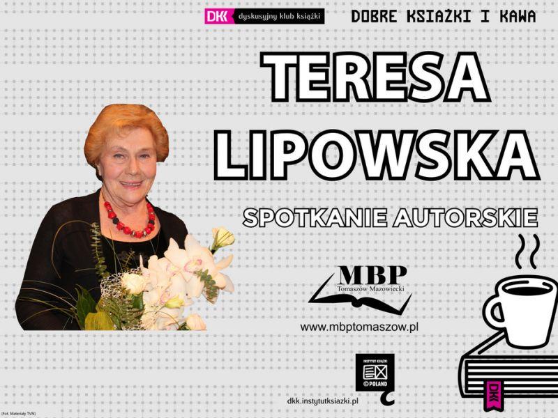 Spotkanie z Teresa Lipowską