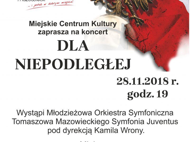 Występ Młodzieżowej Orkiestry Symfonicznej Symfonia Juventus wraz z Chórem Miejskim Artis Gaudium