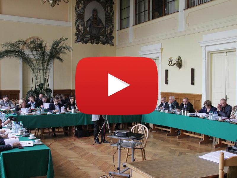 LXIV sesji Rady Miejskiej [WIDEO]