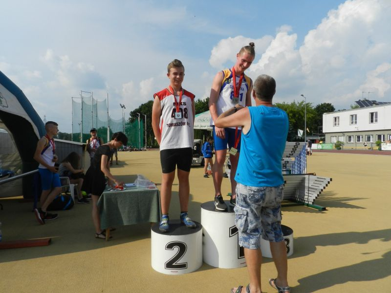 Medale dla lekkoatletów