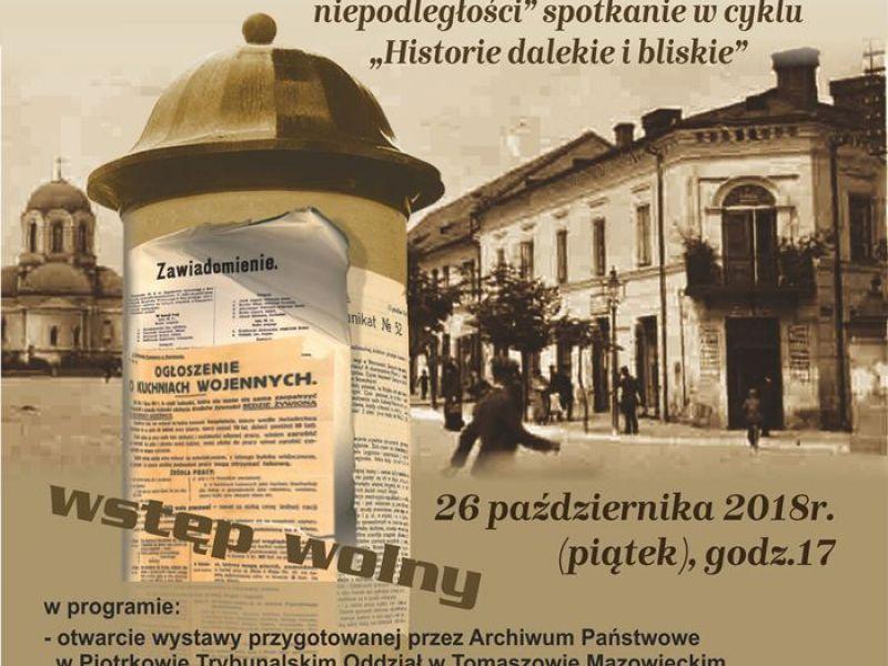 Obchody 100-lecia niepodległości w białobrzeskiej filii Miejskiego Centrum Kultury