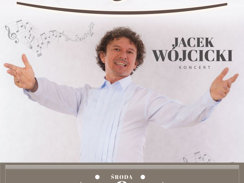 Jacek Wójcicki wystąpi w Tomaszowie