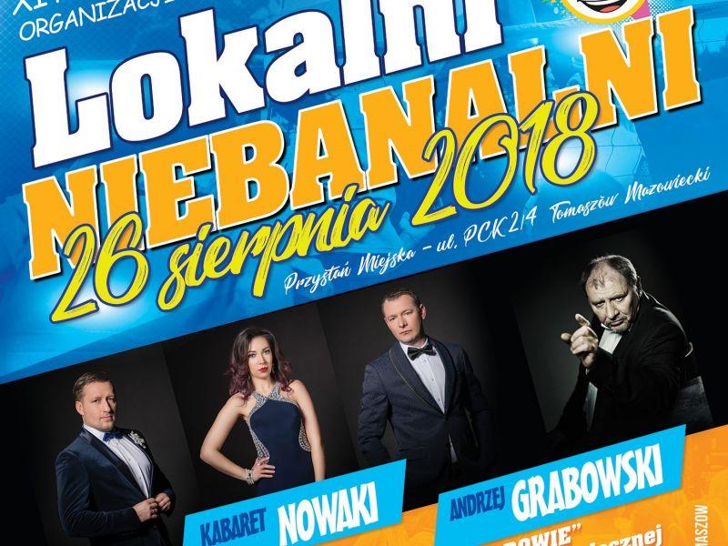 Lokalni Niebanalni. Andrzej Grabowski i kabaret Nowaki wystąpią na Przystani Miejskiej