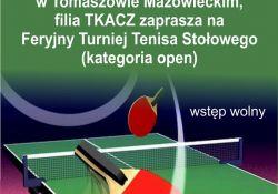 Feryjny Turniej Tenisa Stołowego
