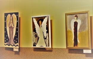 """Wystawa """"Anioły Żywioły"""""""