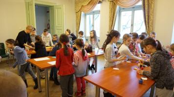 Warsztaty Wielkanocne w bibliotece