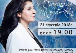 Koncert Eleni w kościele MBNP