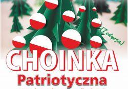 Konkurs plastyczny pt. Choinka patriotyczna