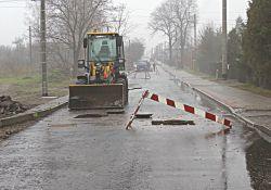 Trwa przebudowa ulicy Piaskowej