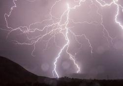 Ostrzeżenie przed deszczem i burzami