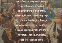 """Uczniowie SP13 zwycięzcami konkursu na """"Ostatkową rymowankę"""""""