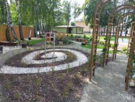 Ogród sensoryczny w SP 12