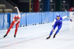 Za nami pierwszy dzień Mistrzostw Polski na dystansach w łyżwiarstwie szybkim