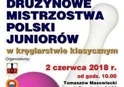 Mistrzostwa Polski Juniorów w kręglarstwie klasycznym już w tę sobotę