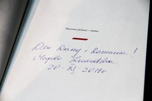 Magdalena Zawadzka wpadła na dzień do Tomaszowa