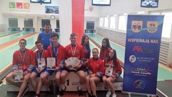 Mistrzostwa Polski Juniorów Młodszych w kręglarstwie klasycznym z medalami dla Pilicy