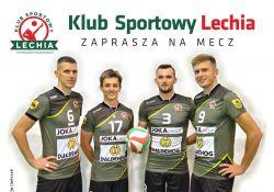 Siatkarze Lechii zapowiadają walkę o awans do I ligi
