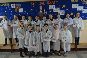 Jedenastka naukową szkołą Ignacego