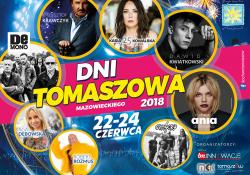 Dni Tomaszowa Mazowieckiego 2018 [PROGRAM, ATRAKCJE, ZMIANA ORGANIZACJI RUCHU]