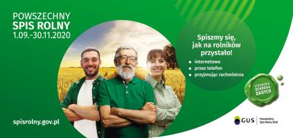 Powszechny Spis Rolny 2020 ‒ zostań rachmistrzem spisowym
