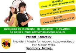 II Mistrzostwa Tenisa Ziemnego Dzieci i Młodzieży