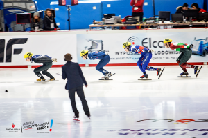 Koreańczycy zdominowali Mistrzostwa Świata Juniorów w Arenie Lodowej [ZDJĘCIA]