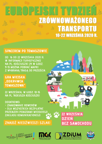 Europejski Tydzień Zrównoważonego Transportu startuje