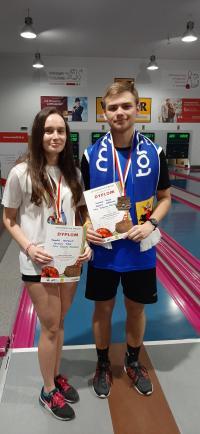 KS Pilica z dwoma medalami Mistrzostw Polski Juniorów w kręglarstwie
