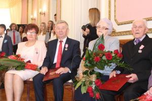 Siedem par świętowało długoletnie pożycia małżeńskie