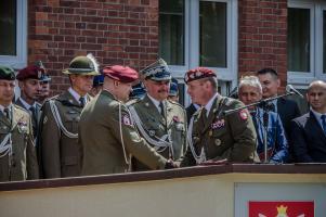 Przekazanie obowiązków dowódcy 25BKPow.