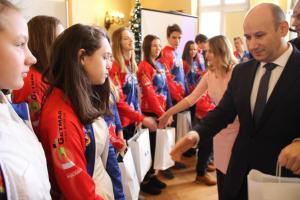 Sportowcy i tancerze z wyróżnieniami