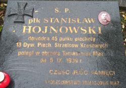Historie Tomaszowa: płk Stanisław Hojnowski