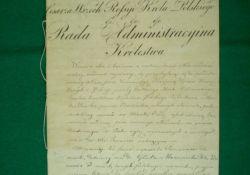 Skarby tomaszowskich placówek: dokumenty praw miejskich