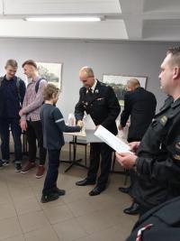 Młodzież zapobiega pożarom- turniej wiedzy