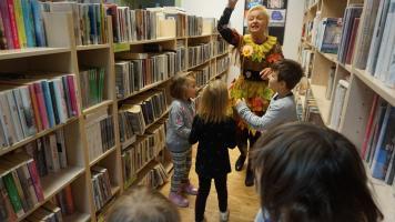 Jesienne spotkania w bibliotece