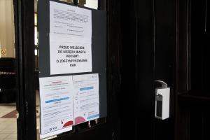 Urząd Miasta ‒ ograniczenia w obsłudze klientów