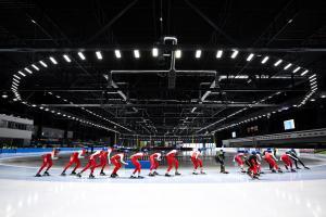 Udane Mistrzostwa Polski na Dystansach w tomaszowskiej Arenie Lodowej